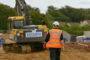 Hard at work at Bateman Groundworks