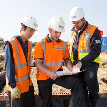 Construction Apprentices at Bateman Groundworks